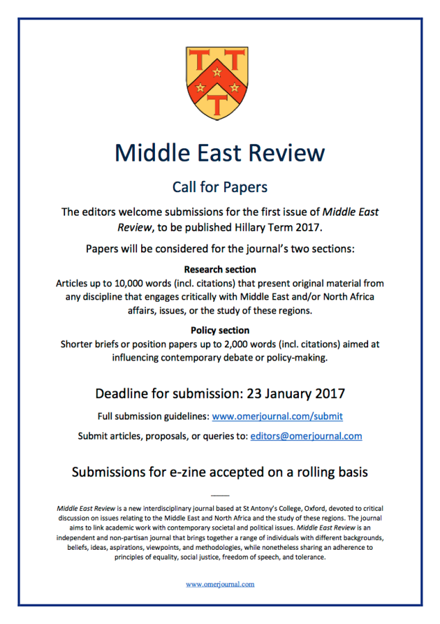 Call for Papers HT17